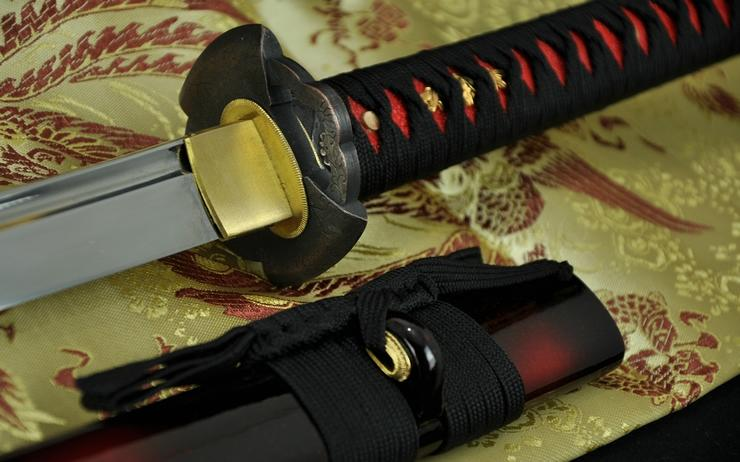 41 Inch Hand Made Japanese Samurai Sword Katana High Carbon Steel Full Tang Blade