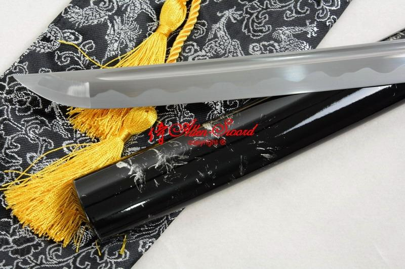 Hand Forged Japanese Battle Ready Katana Kill Bill Tsuba Sword Full Tang Blade