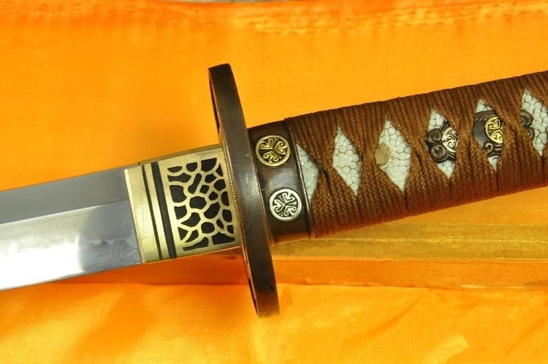 Top Quality Japanese Samurai Sword Katana Clay Tempered Blade With Hazuya Polish