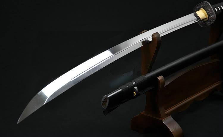 45 Inch High Quality Japanese Samurai Sword Naginata Unokubi Zukuri Blade Very Sharp