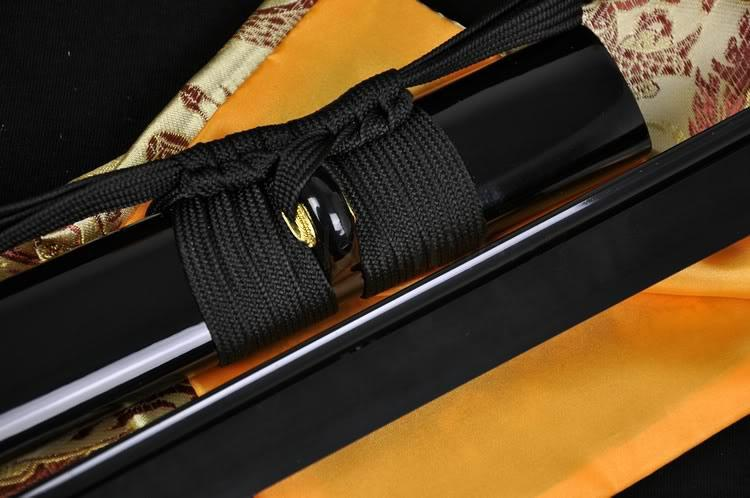 41 Inch Handmade Japanese Samurai Ninja Sword Black Full Tang Blade Very Sharp