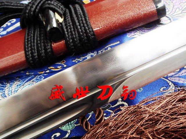 Clay Tempered Foled Steel Configuration Japanese Wakizashi Katana Sword Sharpened Full Tang Blade
