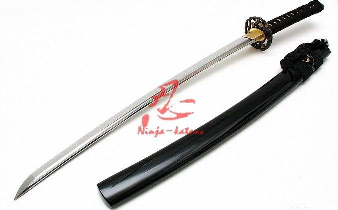 Hanclaying Jp Wakizashi Katana Razor Sharp Edge Cut 4bamboos